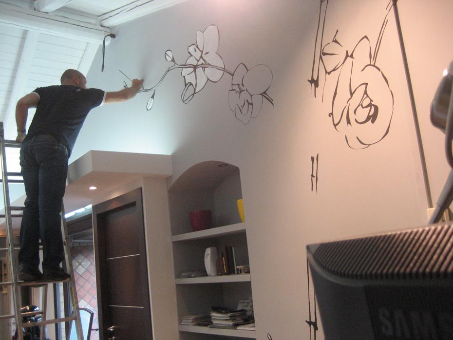Decorazione di interni decorazioni murali per interni for Decorazioni per scale interne