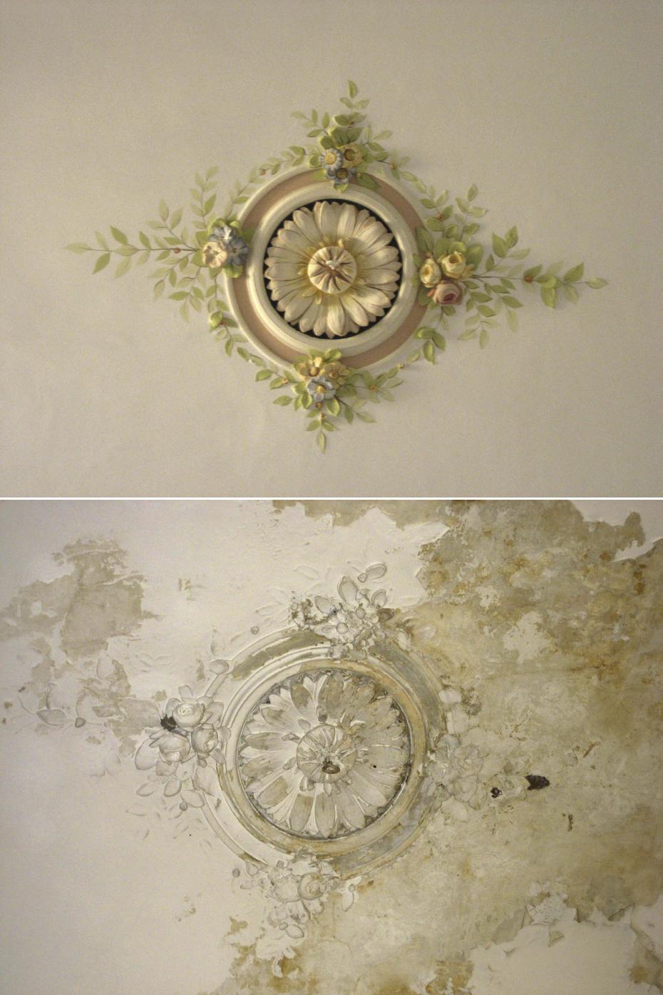 Giorgio Terranova, Restauro decorazione volta, Decorazione volta