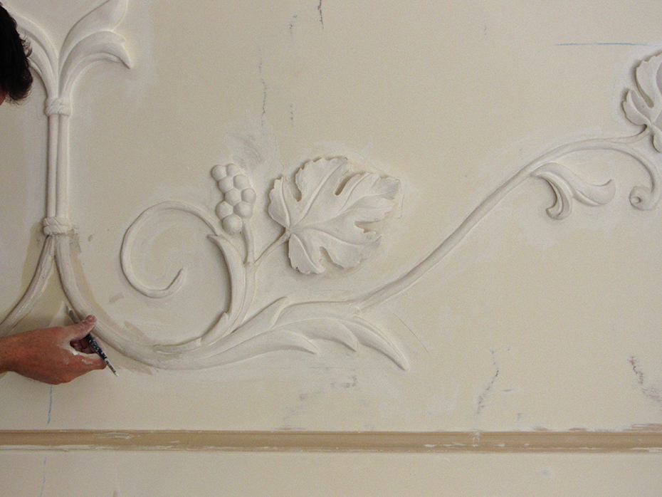 Stucchi decorativi decorazione di interni progettazione - Stucchi decorativi per pareti ...