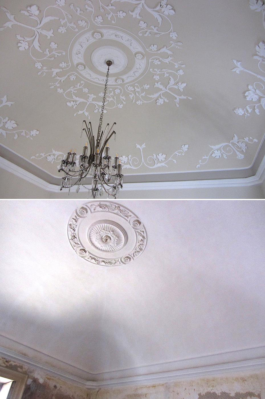 Stucchi decorativi decorazione di interni progettazione - Decorazione di interni ...
